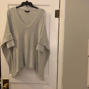 Sweater poncho with sleeves. NWOT!